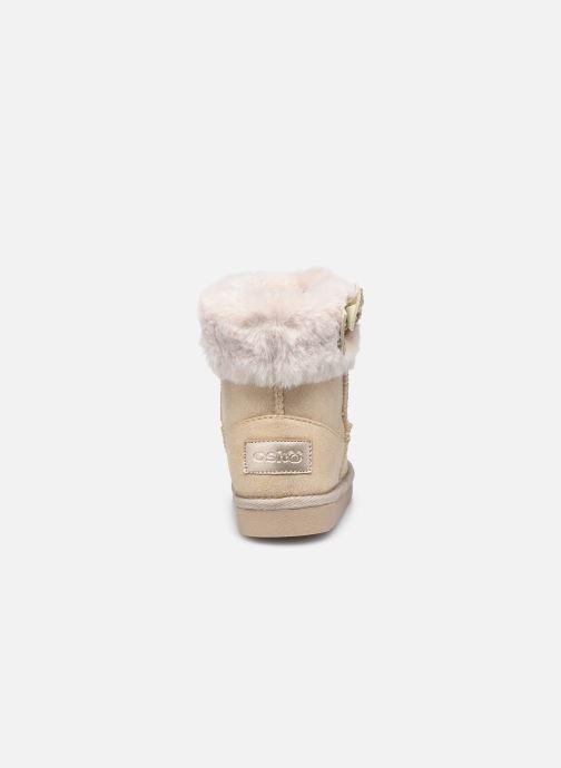 Stiefel Conguitos KIS 140 68 beige ansicht von rechts