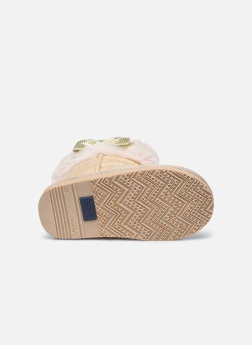 Stiefel Conguitos KIS 140 68 beige ansicht von oben