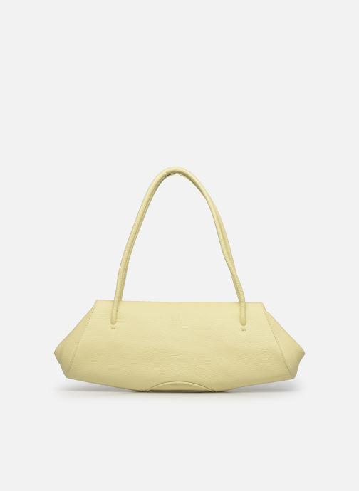 Handtaschen Behno Elizabeth Baguette gelb detaillierte ansicht/modell