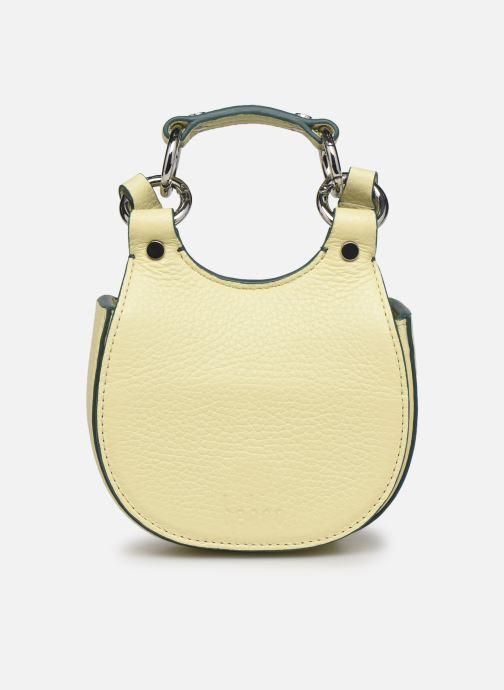 Bolsos de mano Behno Tilda Saddle Bag Micro Amarillo vista de detalle / par