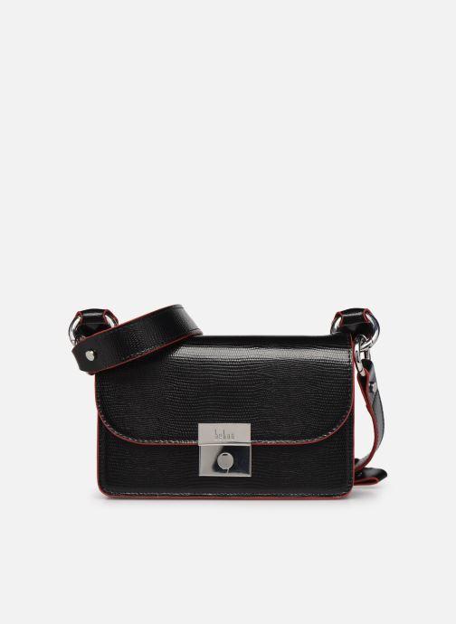 Bolsos de mano Behno Amanda Belt Shoulder Bag Negro vista de detalle / par
