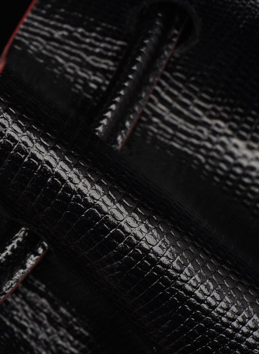 Bolsos de mano Behno Tina Mini Crossbody Lizard Negro vista lateral izquierda