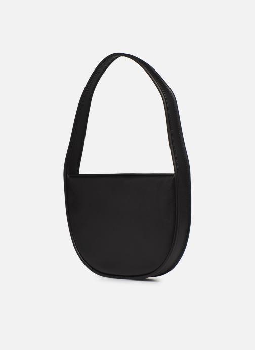 Bolsos de mano Behno Greta Single Shoulder Bag Negro vista lateral derecha