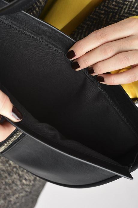 Bolsos de mano Behno Greta Single Shoulder Bag Negro vistra trasera