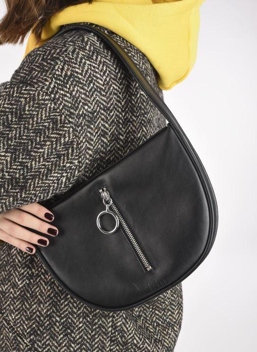 Bolsos de mano Behno Greta Single Shoulder Bag Negro vista de abajo