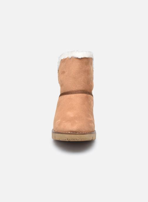 Boots en enkellaarsjes Tom Tailor Antonella II Bruin model