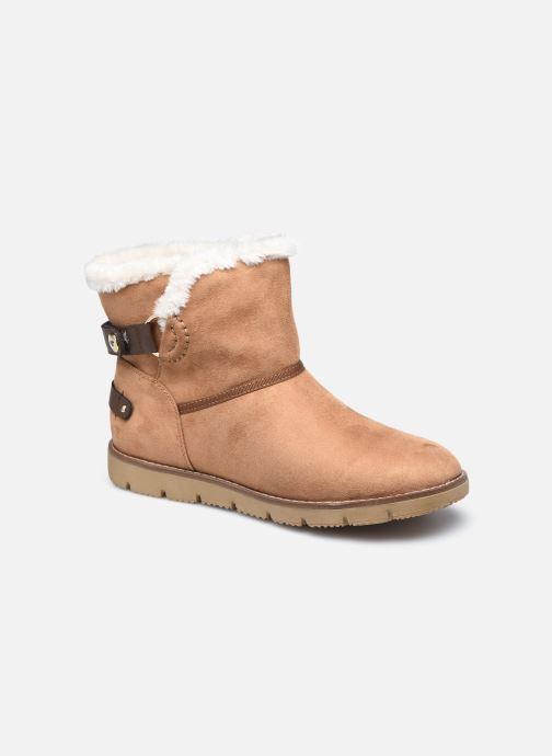 Boots en enkellaarsjes Tom Tailor Antonella II Bruin detail