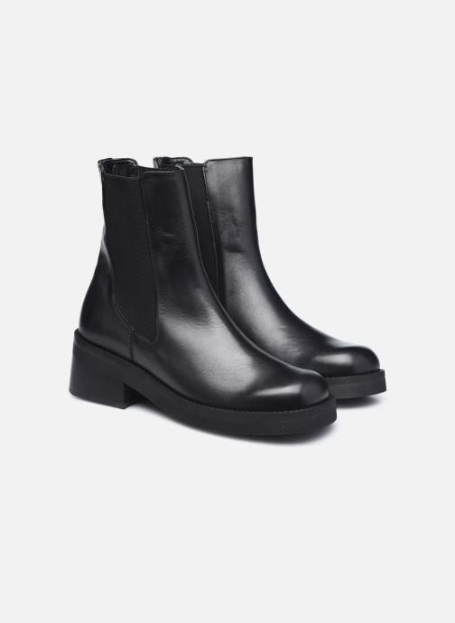 Bottines et boots E8 by Miista Thea Noir vue 3/4
