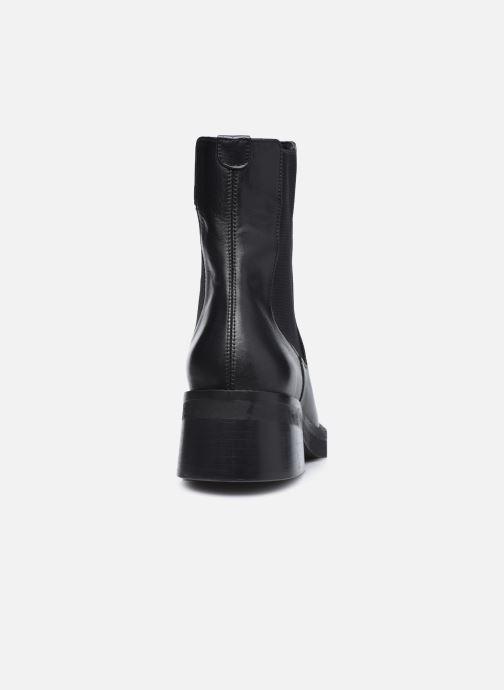 Bottines et boots E8 by Miista Thea Noir vue droite