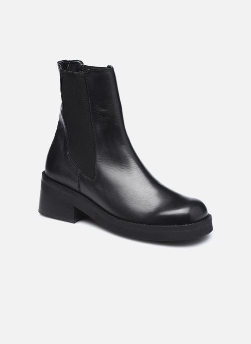 Bottines et boots E8 by Miista Thea Noir vue détail/paire