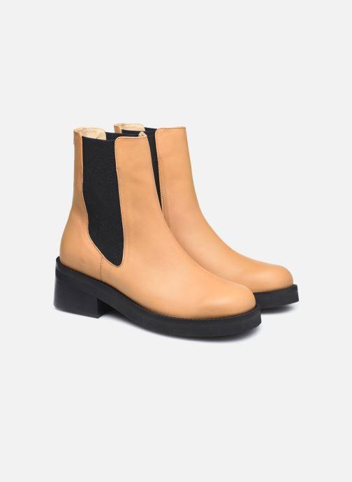 Boots en enkellaarsjes E8 by Miista Thea Beige 3/4'