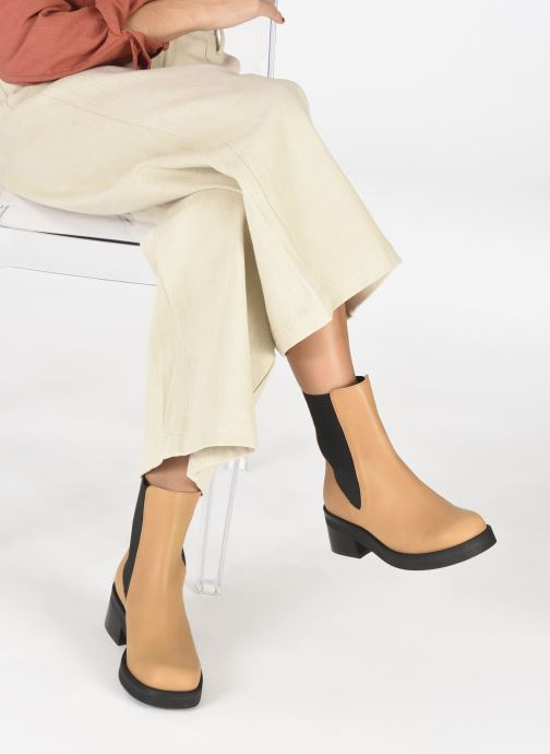 Boots en enkellaarsjes E8 by Miista Thea Beige onder