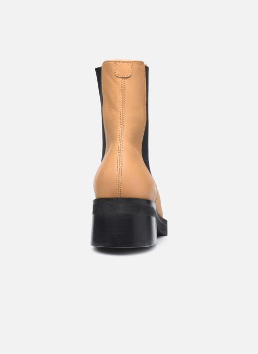 Boots en enkellaarsjes E8 by Miista Thea Beige rechts