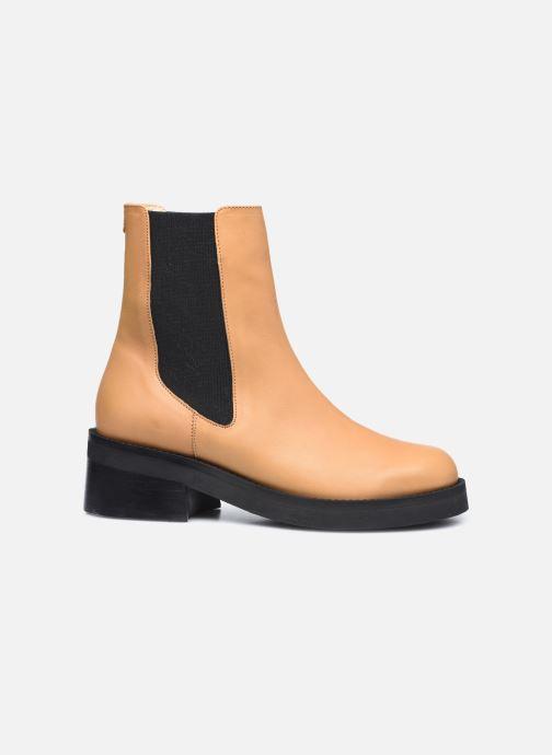 Boots en enkellaarsjes E8 by Miista Thea Beige achterkant