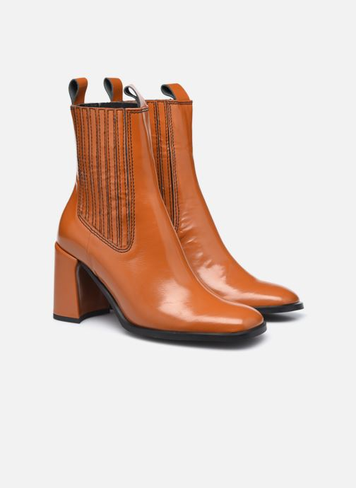 Bottines et boots E8 by Miista Adair Marron vue 3/4