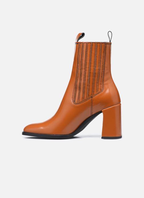 Bottines et boots E8 by Miista Adair Marron vue face