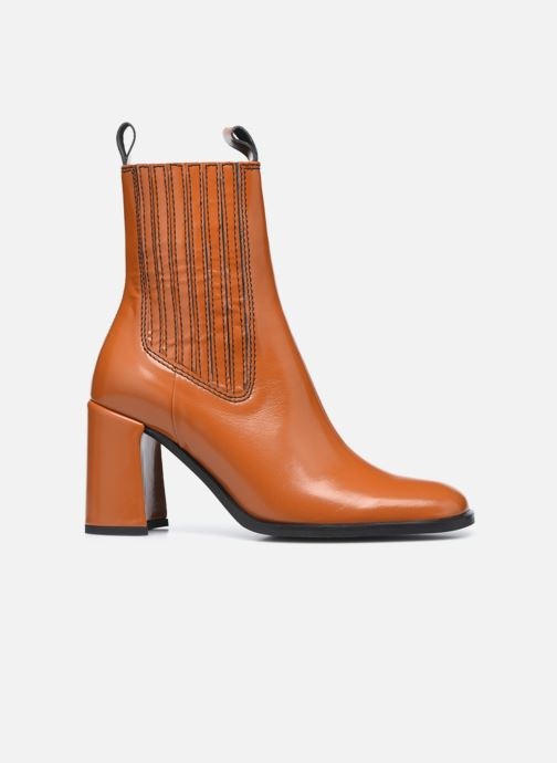Bottines et boots E8 by Miista Adair Marron vue derrière