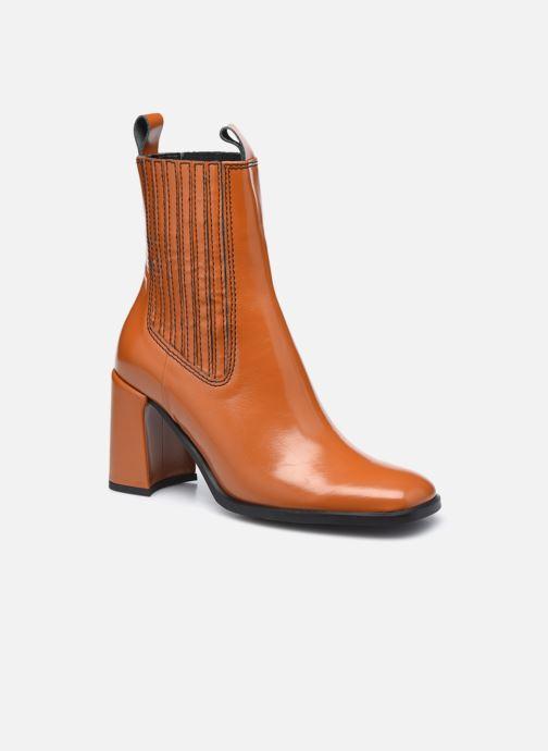 Bottines et boots E8 by Miista Adair Marron vue détail/paire