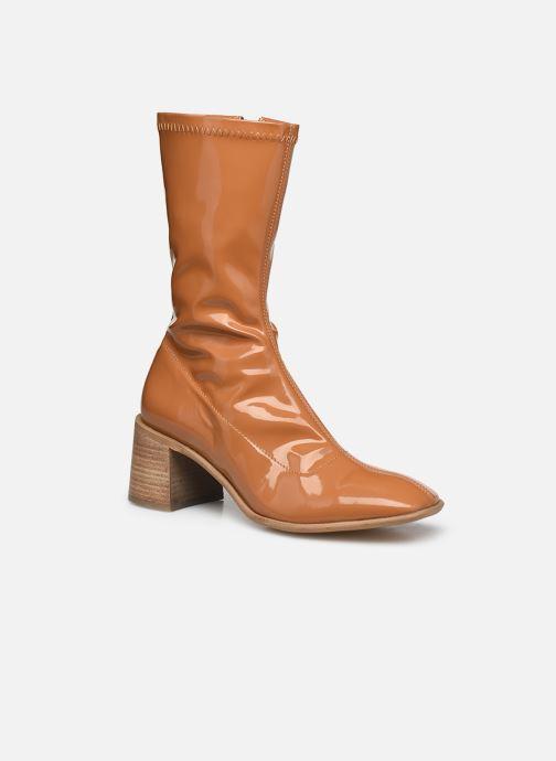 Bottines et boots E8 by Miista Clea Marron vue détail/paire