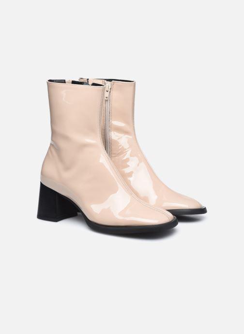 Boots en enkellaarsjes E8 by Miista Franny Beige 3/4'