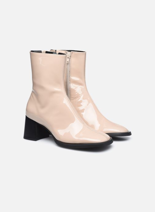 Bottines et boots E8 by Miista Franny Beige vue 3/4