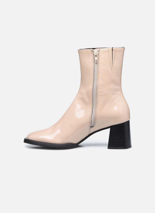 Boots en enkellaarsjes E8 by Miista Franny Beige voorkant