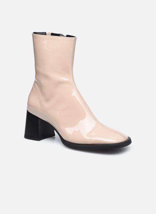 Boots en enkellaarsjes E8 by Miista Franny Beige detail