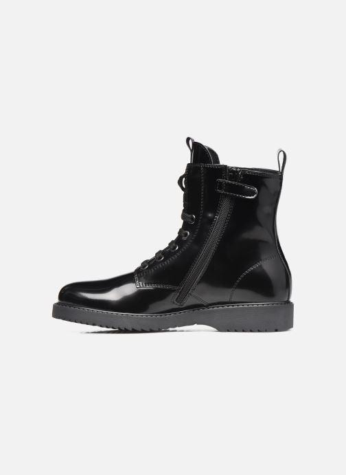 Stiefeletten & Boots Tommy Hilfiger Lace-Up Boot schwarz ansicht von vorne