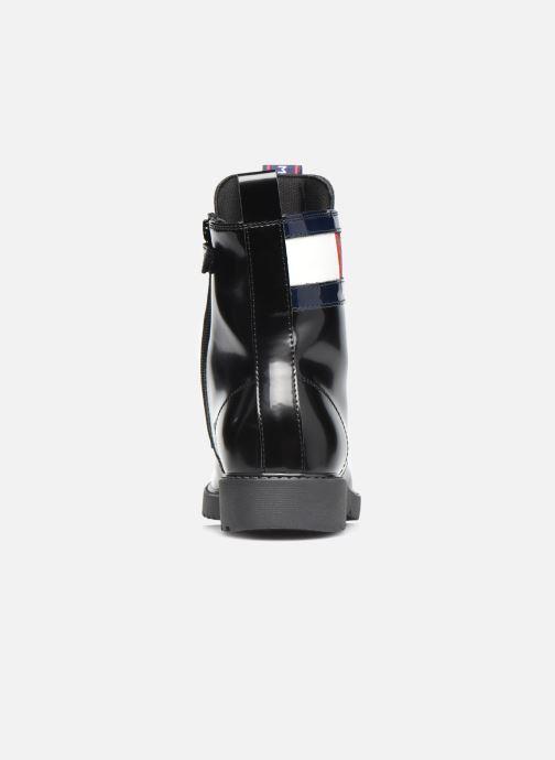 Stiefeletten & Boots Tommy Hilfiger Lace-Up Boot schwarz ansicht von rechts