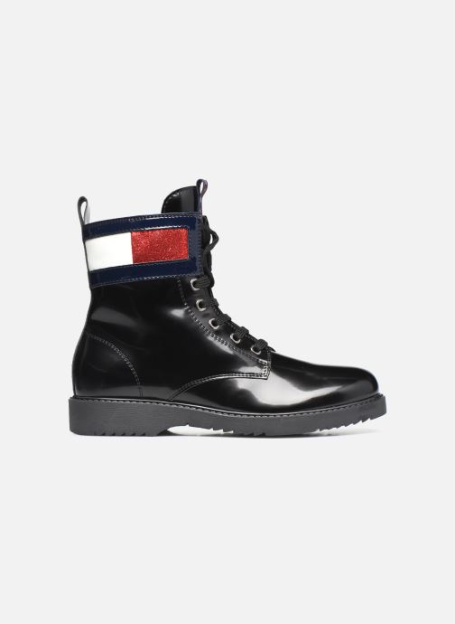 Stiefeletten & Boots Tommy Hilfiger Lace-Up Boot schwarz ansicht von hinten