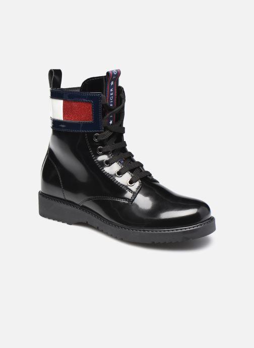 Bottines et boots Tommy Hilfiger Lace-Up Boot Noir vue détail/paire