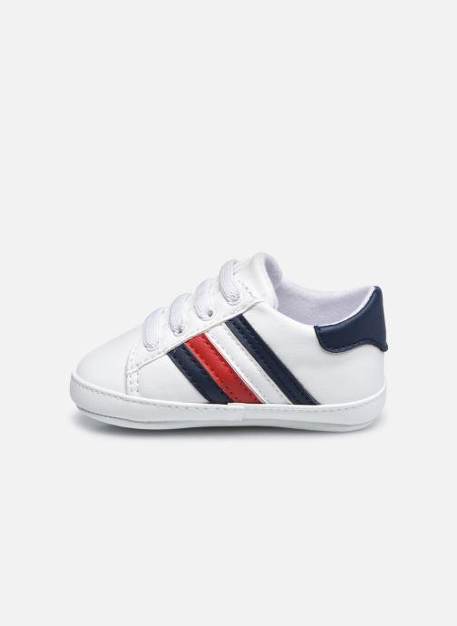 Sneaker Tommy Hilfiger Lace-Up Shoe weiß ansicht von vorne