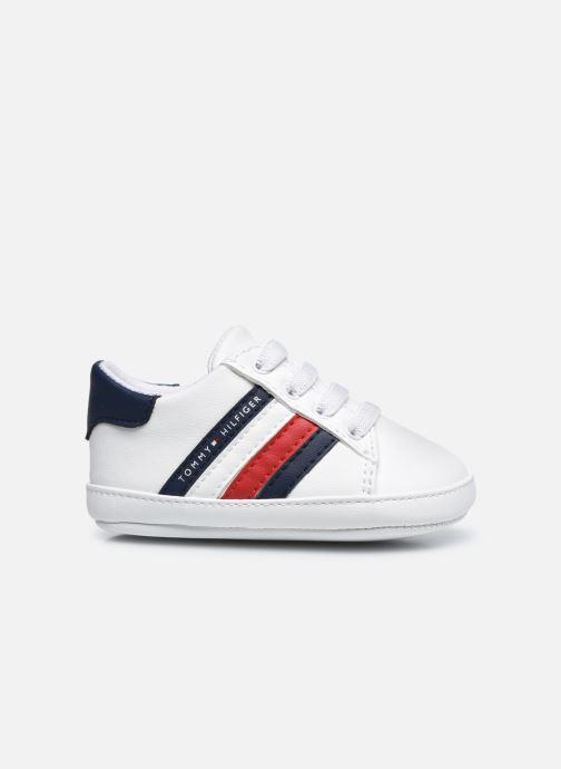 Sneaker Tommy Hilfiger Lace-Up Shoe weiß ansicht von hinten