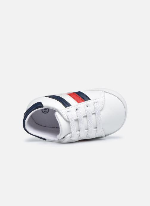 Sneaker Tommy Hilfiger Lace-Up Shoe weiß ansicht von links