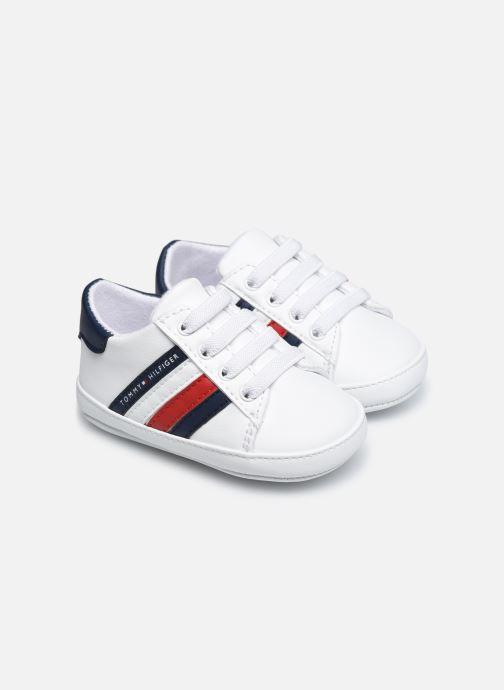 Sneaker Tommy Hilfiger Lace-Up Shoe weiß detaillierte ansicht/modell