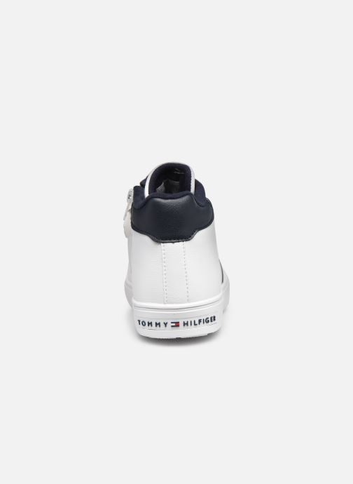 Sneakers Tommy Hilfiger High Top Lace-Up Sneaker Bianco immagine destra