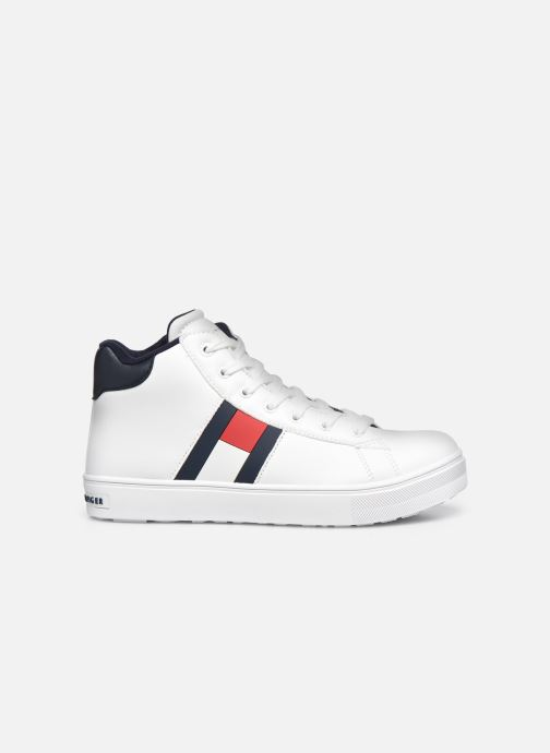 Sneakers Tommy Hilfiger High Top Lace-Up Sneaker Bianco immagine posteriore