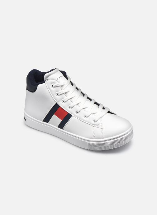 Sneakers Tommy Hilfiger High Top Lace-Up Sneaker Bianco vedi dettaglio/paio