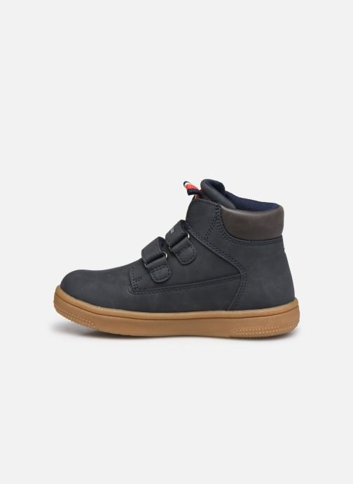 Deportivas Tommy Hilfiger Mid Cut Velcro Shoe Azul vista de frente