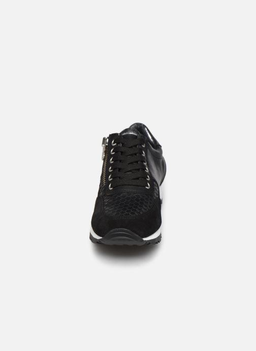 Baskets Georgia Rose Soft Cezip Noir vue portées chaussures