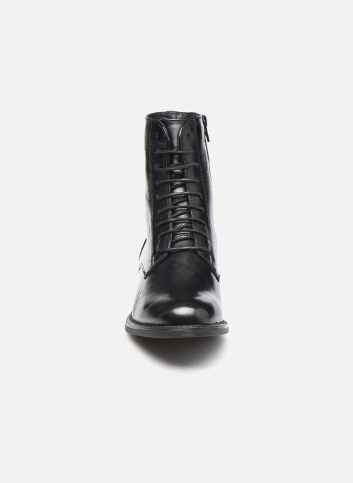 Bottines et boots Georgia Rose Soft Risouria Noir vue portées chaussures