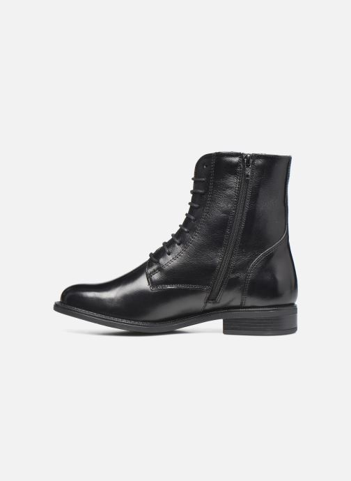 Bottines et boots Georgia Rose Soft Risouria Noir vue face