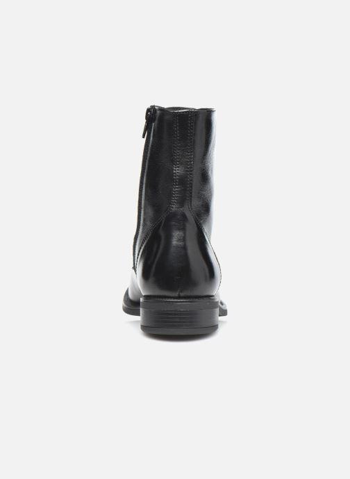 Bottines et boots Georgia Rose Soft Risouria Noir vue droite