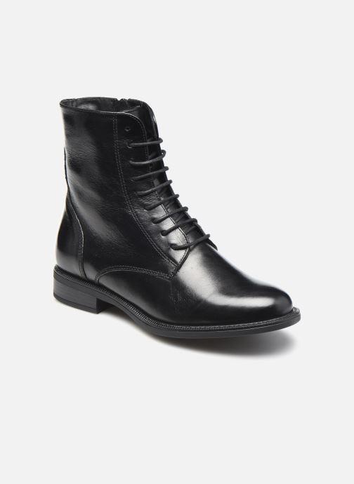 Bottines et boots Georgia Rose Soft Risouria Noir vue détail/paire