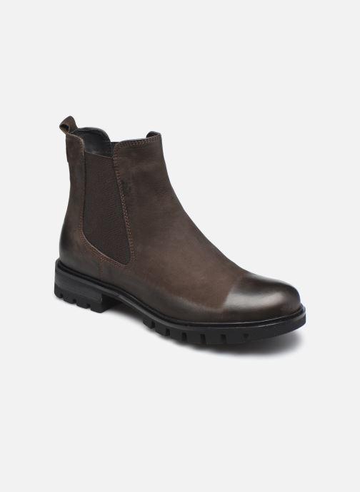 Bottines et boots Georgia Rose Soft Rachel Marron vue détail/paire