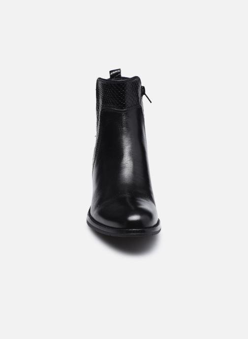 Bottines et boots Georgia Rose Soft Rozalla Noir vue portées chaussures