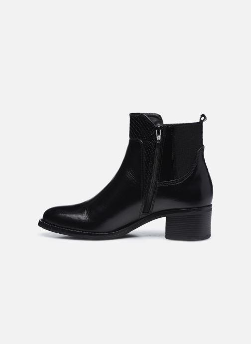 Bottines et boots Georgia Rose Soft Rozalla Noir vue face