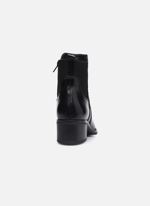 Bottines et boots Georgia Rose Soft Rozalla Noir vue droite