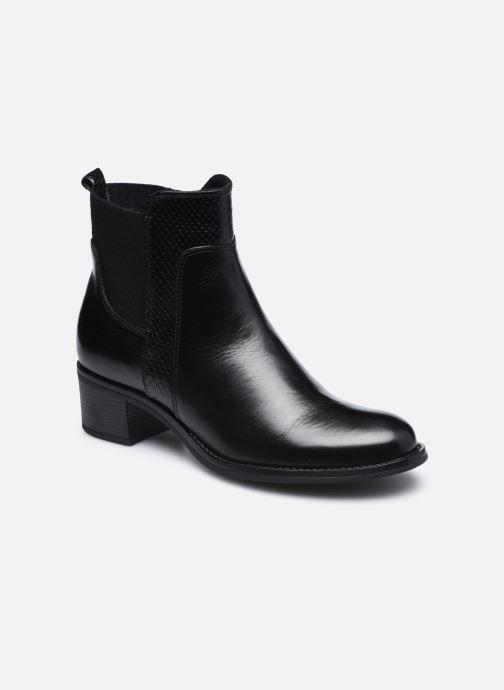 Bottines et boots Georgia Rose Soft Rozalla Noir vue détail/paire