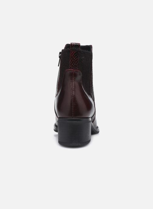 Bottines et boots Georgia Rose Soft Rozalla Bordeaux vue droite